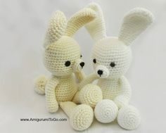 Dress Me Bunny By Sharon Ojala - Free Crochet Pattern - See http://www.ravelry.com/patterns/library/easy-spring-time-dress For Dress Pattern For Dress Me Bunny - (ravelry) thanks so for share xox