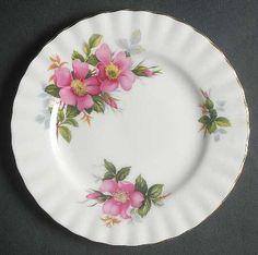 Royal Albert Prairie Rose Bread & Butter Plate