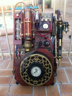 Steampunk Proton Pack; A Time Traveling Machine!