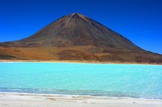 South America,Lake Laguna Verde , Bolivia...
