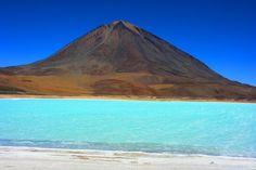 South America,Lake Laguna Verde , Bolivia...