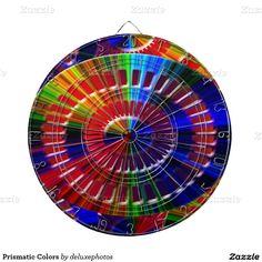 Prismatic Colors Dartboards