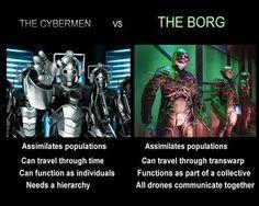 Cybermen vs The Borg