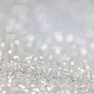 defocused silver glittering background
