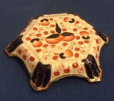 19thC VICTORIAN HEXAGONAL STAFFORDSHIRE IMARI TEAPOT STAND HIGHLY COLLECTABLE! in Pottery, Porcelain & Glass, Pottery, Gaudy Welsh | eBay!