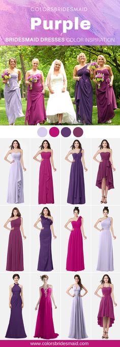 c9ebc5172e7f7 39 Best Dark Purple Bridesmaid Dresses images | Bridesmaid dresses ...