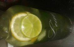 Een platte buik door gember, citroen en muntwater