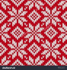 Illustration about Nordic knitted seamless pattern. Illustration of norway, norwegian, ethnic - 32757038 Wallpaper Panels, Pattern Wallpaper, Knitting Patterns Free, Free Pattern, Knitting Charts, Intarsia Knitting, Knitting Machine, Nordic Pattern, Scandinavian Pattern