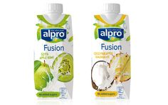 Alpro has refreshed its on-the-go offering with a new range of two chilled single-serve drinks, featuring soya and coconut.