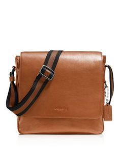 COACH Sport Calf Contrast Leather Metropolitan Map Bag. #coach #bags #shoulder bags #leather