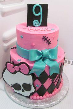 Monster High Cake  www.milkandhoneycakery.com