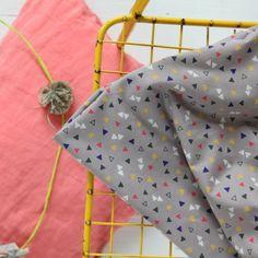 """Tissu """"Candy Flakes"""" atelier brunette chez Annaka Bazaar"""