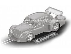 The Carrera 1/32 Volkswagen Beetle - Group 5, is a superbly detailed Carrera Evolution slot car for use on any 1/32 analogue slot car layout.  Image is of preliminary design, final model may vary.
