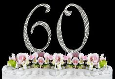 New Large Rhinestone Number 30 Cake Topper Birthday Party Anniversary 20 Birthday Cake, 90th Birthday Parties, 60th Birthday Party, Birthday Cake Toppers, Wedding Cake Toppers, Birthday Ideas, Cupcake Toppers, Birthday Celebration, 30 Cake Topper