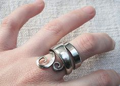 ring made with a fork!