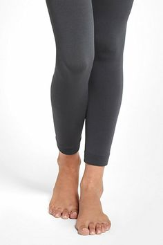 Fleece-lined leggings by Anthropologie. $18.00 genius! I might need a few pairs of these this winter.