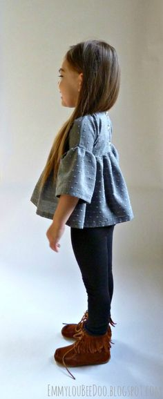 EmmylouBeeDoo!: Swiss Dot September Tunic  THERE CAN BE ONLY ONE!!!!