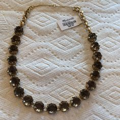 Beautiful crystal necklace Madewell beautiful crystal because Madewell Jewelry Necklaces