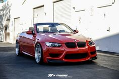 BMW convertible with aftermarket front bumper M3 Convertible, Bmw Performance, Bmw I, Mercedes Car, Sweet Cars, Amazing Cars, Awesome, Bmw Cars, Car Manufacturers