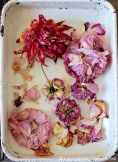 Natural dye technique - How to dye fabric using only dried flowers petals and natural ingredients Alcohol En Gel, Alcohol Inks, How To Dye Fabric, Dyeing Fabric, Gel Medium, Art Journal Techniques, Architecture Tattoo, Flower Petals, Pink