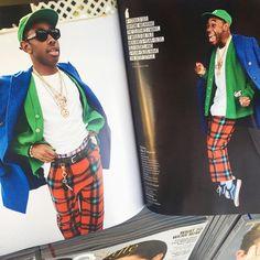 fashion magazine tyler the creator golf wang pined by @reflxctor