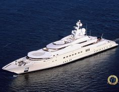 Pelorus by Lurssen - 377 feet. Owned by Russian billionaire Roman Abramovich. Considered one of the most beautiful yachts in the world.