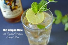 Meet our new obsession, The Morgan Mule with Captain Morgan Spiced Rum. The perfect springtime cocktail with lime, mint, and ginger ale.