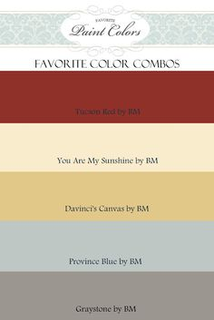 Color Combinations for Tucson Red