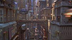 the fifth element city design - Google zoeken
