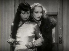 Shanghai Express starring Marlene Dietrich and Anna May Wong, 1932.