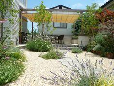 ガーデン施工事例 / パーゴラ、日除け、テラス、ウッドデッキ、園路