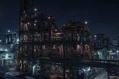 """HDR Photo: Factory night view """"Perfection"""" 