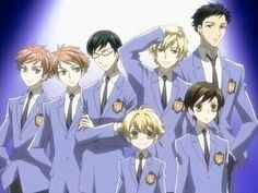 Ouran High School Host Club. Love this anime its so funny.