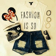 accesories, bracelet, clothes, clothing, converse, crop top, design, disney, disney land, dress, fashion, girls, head band, jacket, mickey mouse, minnie mouse, ootd, outfit, outfits, photography, pretty, shirt, shoes, shorts, spring, style, summer, vans