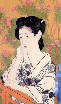The Art of Japan are top tier dealers in Japanese prints and paintings worldwide. Woodcut prints, Ukiyo-e, Meiji, Shin Hanga, Sosaku Hanga prints Art Occidental, Art Asiatique, Art Japonais, Japanese Painting, A4 Poster, Japanese Prints, Japan Art, Woodblock Print, Japanese Culture