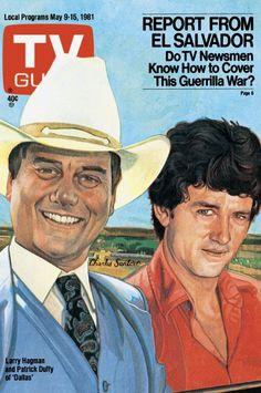DALLAS - 1981- TV GUIDE