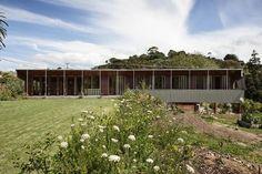Housing category finalist: Ostend Family Home, Waiheke Island by Bull O'Sullivan Architects.