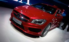 Mercedes CLA45 AMG Confirmed for 2013 New York Auto Show Debut. For more, click http://www.autoguide.com/auto-news/2013/02/mercedes-cla45-amg-confirmed-for-2013-new-york-auto-show-debut.html