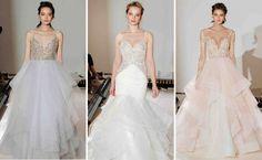 Vestidos de noiva - Desfile de Hayley Paige no NY Bridal Week (Spring 2017) - Créditos: firstVIEW
