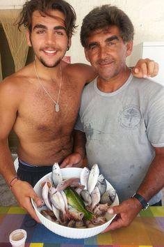 Ignazioand Vito Boschetto! Yum! IL VOLO Fishies anyone?? Credit: Nina Boschetto