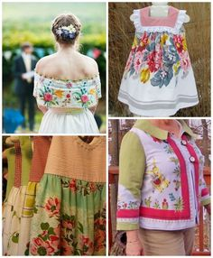 Vintage Tablecloth Clothing