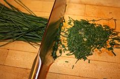 Busy Mom Recipes: How to freeze chives