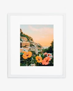 Sunset in Positano, Italy Printed on Hahnemuhle Photo Rag 308 Free domestic shipping on all orders Right this way for more details Iphone Wallpaper Vintage Hipster, Positano, Aesthetic Pictures, Sunset, Wall Art, Prints, Photography, Blue Bath, Guest Room