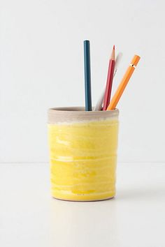 Plunged Pencil Cup - Anthropologie.com