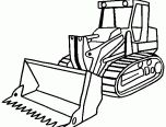 Construction Vehicle Coloring Page