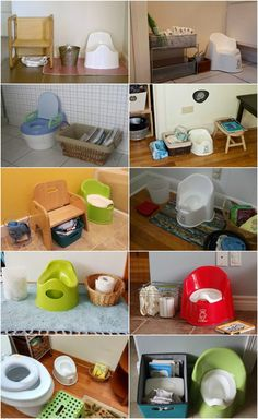 Not really about the website, I just liked these ideas of entertainment next to the potty
