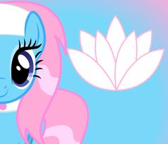 My Little (Spa) Pony - Lotus Blossom My Little Pony Games, My Little Pony List, Little Pony Cake, Mlp My Little Pony, My Little Pony Friendship, Mlp Cutie Marks, Some Beautiful Pictures, Little Poney, Mlp Pony