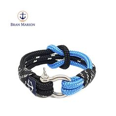 Bran Marion bracelets are the perfect casual accessory for the outdoorsy sporty types. Especially the water enthusiasts. Drake, Reef Knot, Nautical Bracelet, Paracord, Sporty, Bracelets, Accessories, Jewelry, Macrame