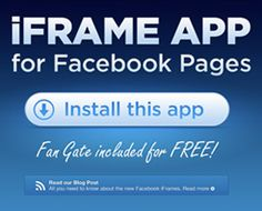 Facebook Page iFrame App
