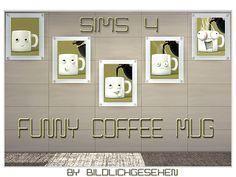 Akisima Sims Blog: Funny Coffee Mug • Sims 4 Downloads